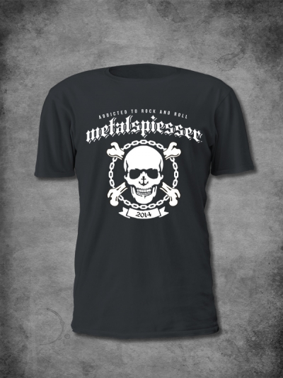 MetalSpiesser Shirt Skull Men