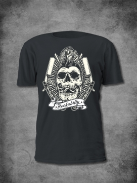 Jolly Rocker Shirt Men Rockabilly