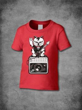 Jolly Rocker Shirt Kids Cat