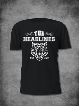 The Headlines Shirt Men Tiger