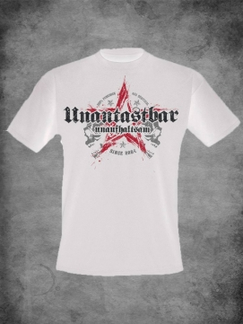 Unantastbar Shirt Men Stern Weiss
