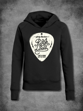 Jolly Rocker Hoodie Sleeve Men Plectrum
