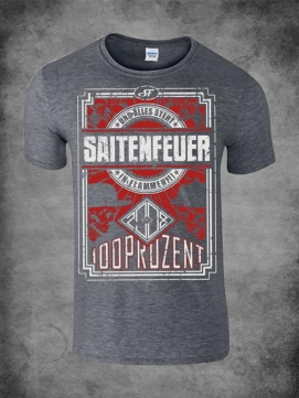 Saitenfeuer Shirt Men 100%