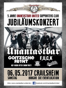 Ticket Unantastbar 06.05.2017 - Crailsheim