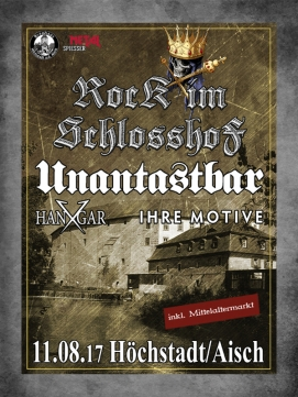 Ticket Rock im Schlosshof - 11.08.2017 - H�chstadt