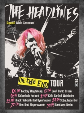 Ticket The Headlines 06.04.2017 - Magdeburg
