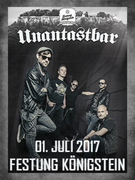 Ticket Unantastbar 01.07.2017 - Festung K�nigstein