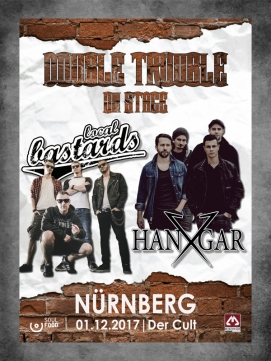 Ticket Double Trouble on Stage 01.12.2017 - Nürnberg