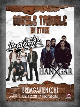 Ticket Double Trouble on Stage 02.12.2017 - Bremgarten