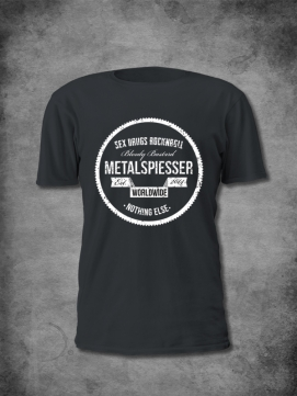 MetalSpiesser Shirt Sex Drugs Men